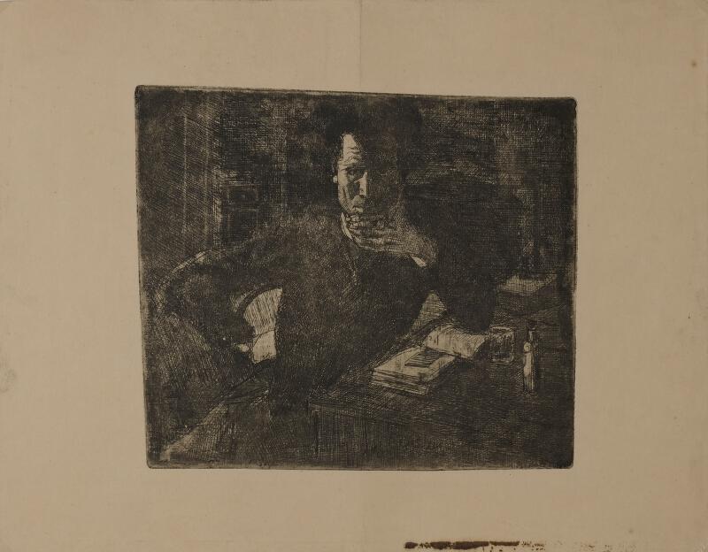 Bohumil Kubišta - Vlastní portrét