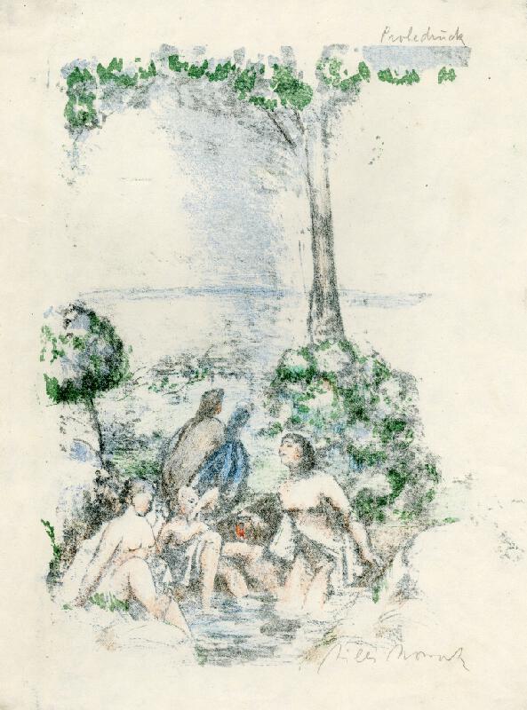 Vilém (Willi, Willy) Nowak - Koupající se ženy