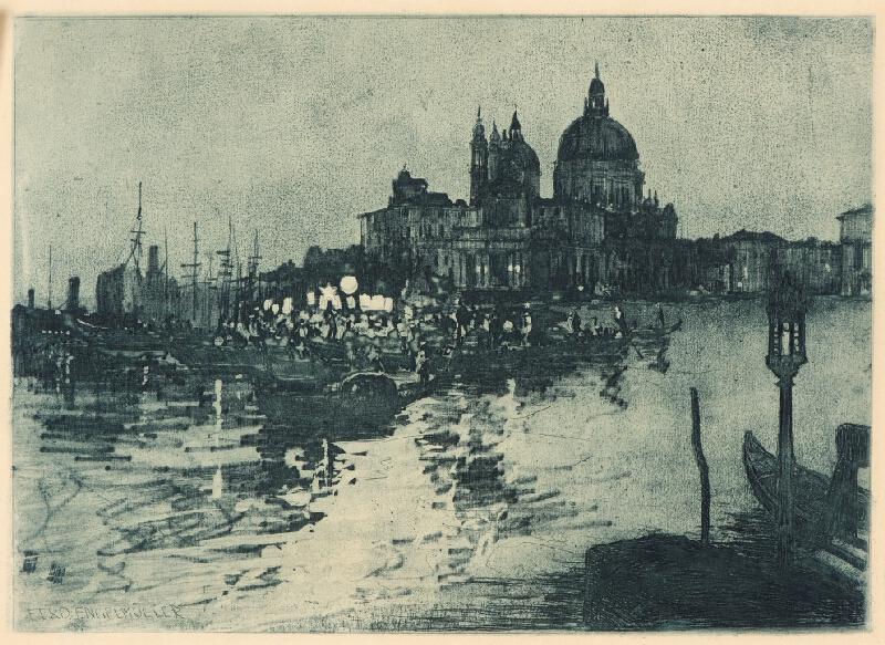 Ferdinand Engelmüller - Benátky