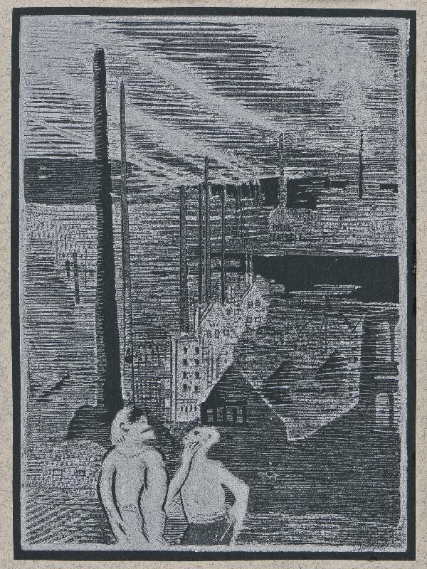 Josef Váchal - Sen o zemi: 6. Továrny