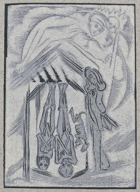 Josef Váchal - Sen o zemi: 8. Dědic duší