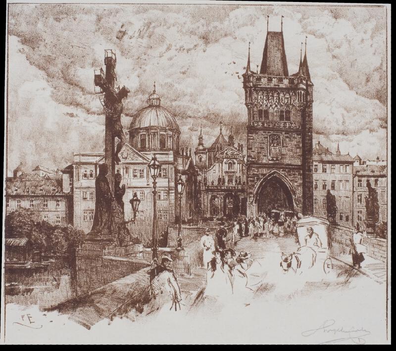 Ferdinand Engelmüller - Staroměstská mostecká věž