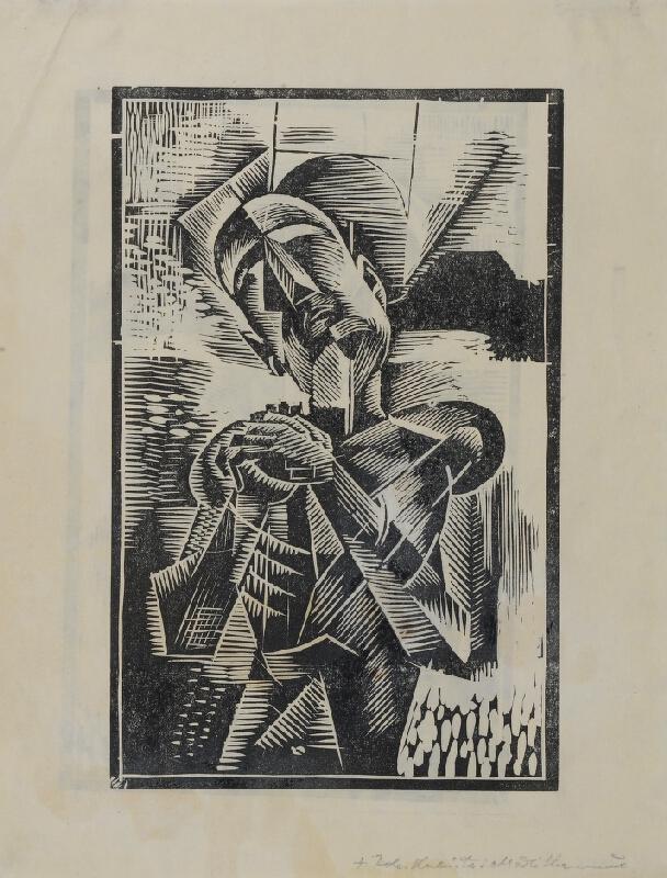 Bohumil Kubišta - Modlitba muže