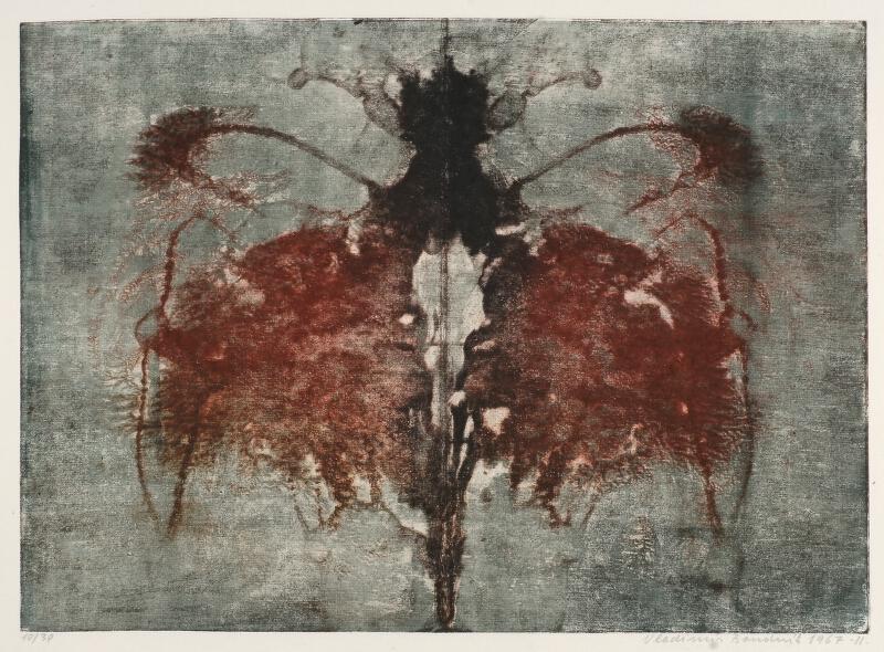 Vladimír Boudník - Abstraktní kompozice
