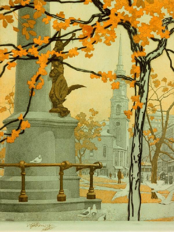 Vojtěch Preissig - Podzimní den