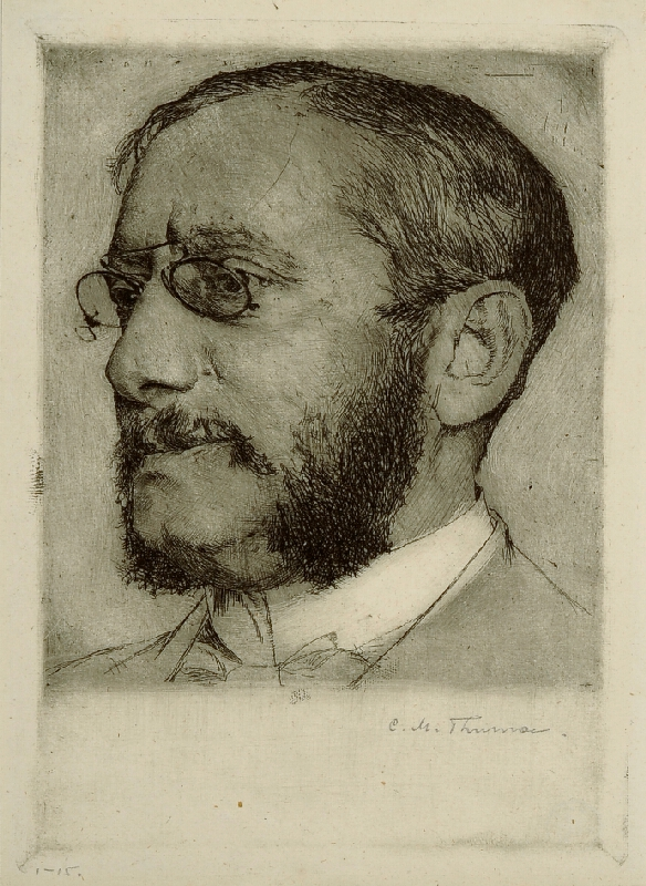 Carl Maria Thuma - Podobizna Dr. Fischla