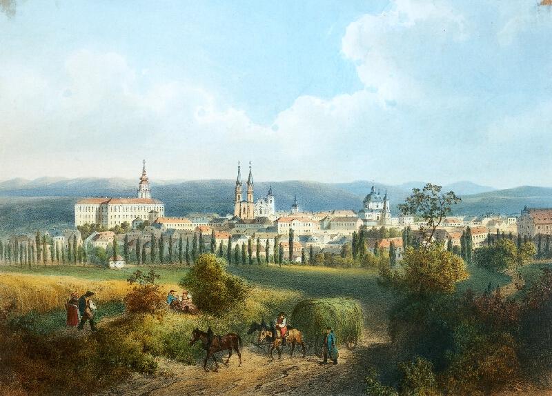 August Haun - Kroměříž  -  celkový  pohled