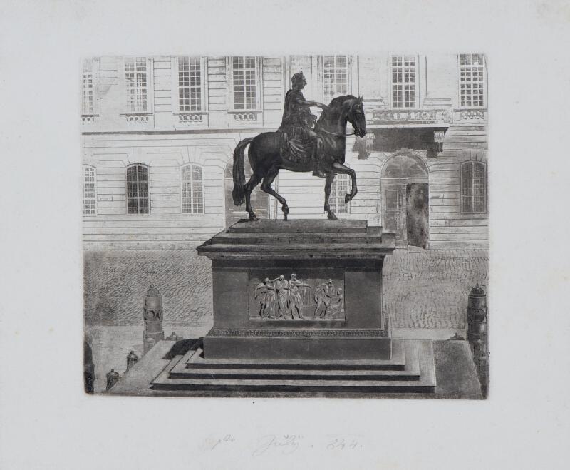 Josef Axmann - Jezdecký  pomník