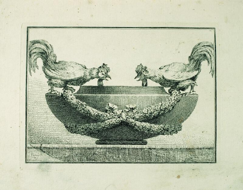 Benigno Bossi - Váza s kohouty