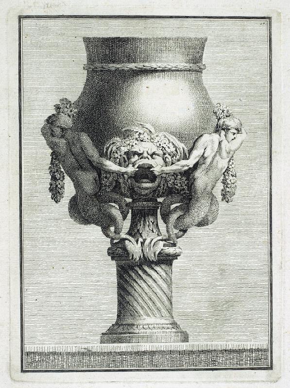 Benigno Bossi - Váza s vodními vílami