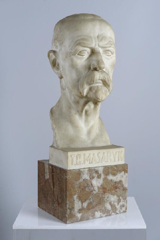 Rudolf Březa - Busta prezidenta Masaryka