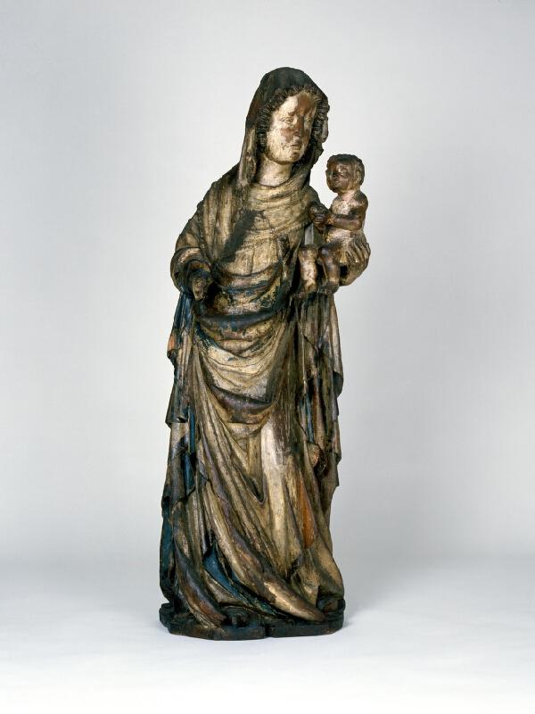 neznámý sochař moravský - Madona z kostela sv. Jakuba v Brně