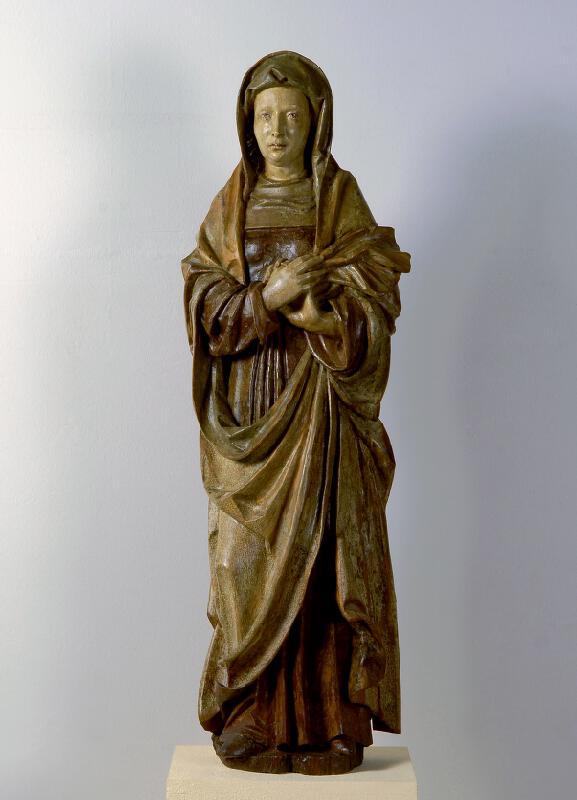 neznámý sochař středoevropský - Světice (P. Marie pod křížem?)