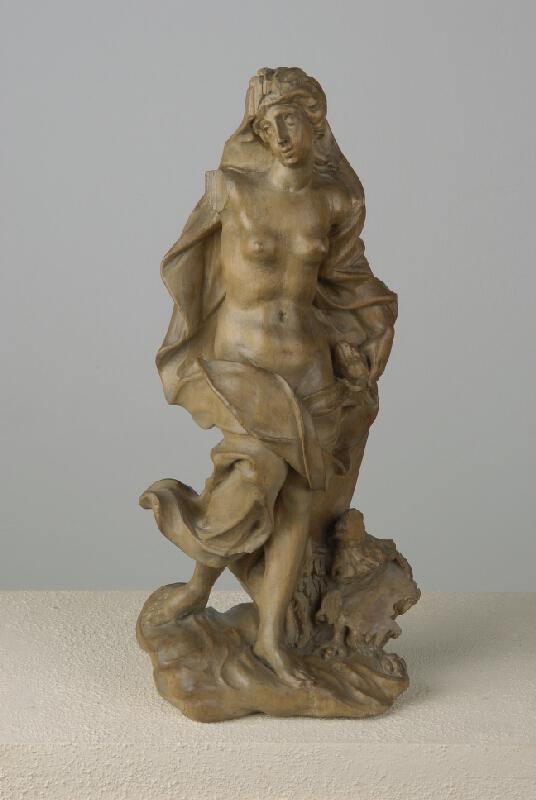 neznámý sochař rakouský - Alegorická ženská postava