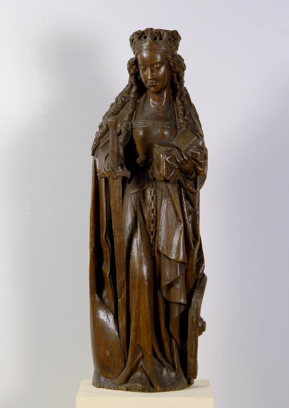 neznámý sochař nizozemský / dolnorakouský (?) - Sv. Kateřina