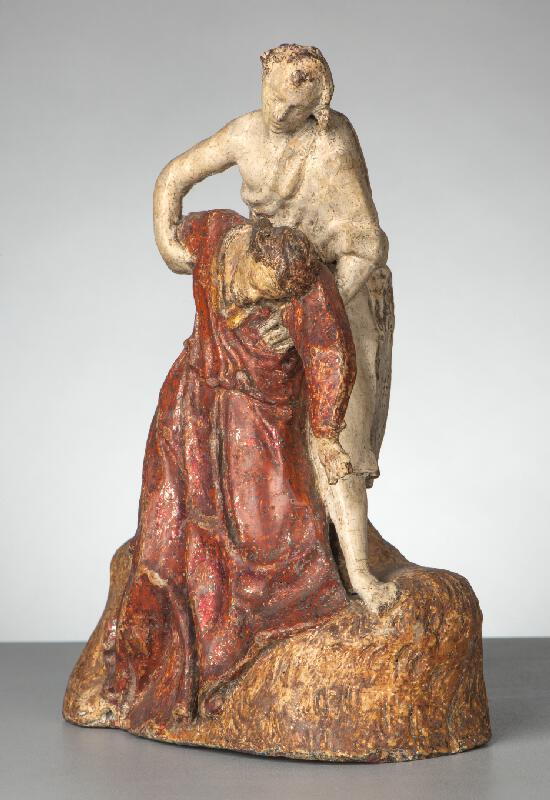 Jan Schubert - Kristus podpíraný andělem