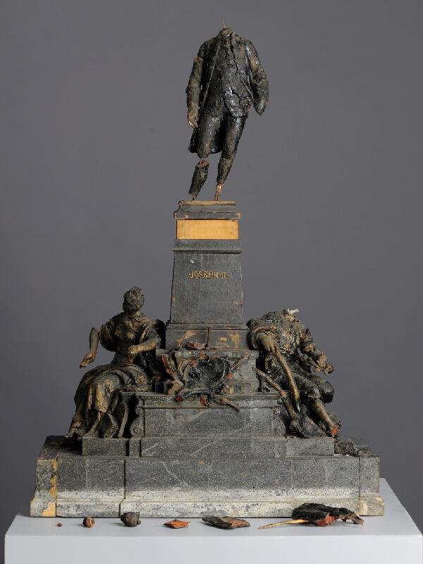Antonín Břenek - Model pomníku Josefa II. v Brně