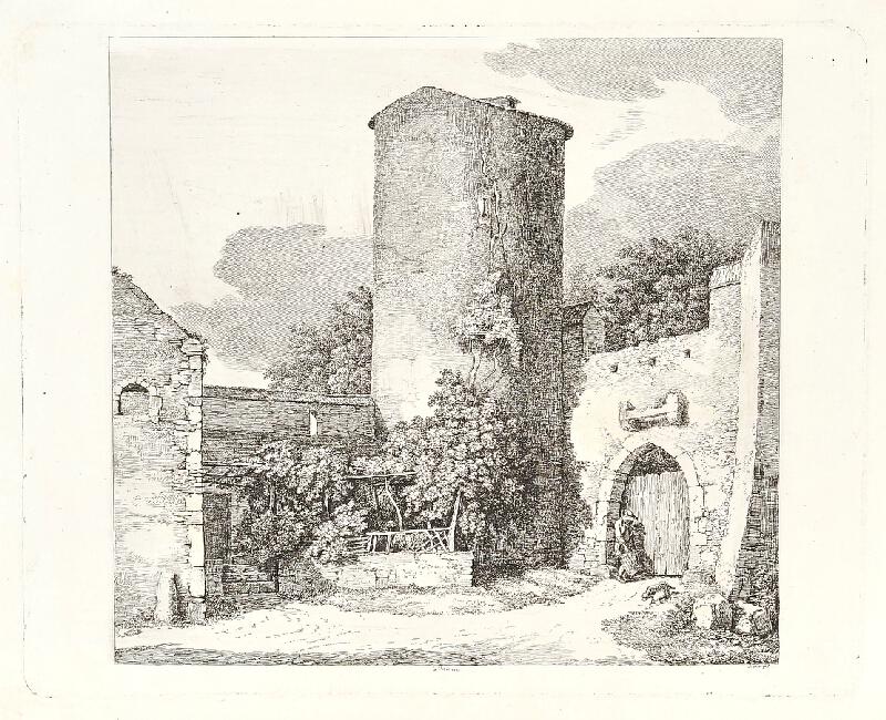 František Xaver, Rektorzik Rektořík - Nádvoří hradu (Ve Valencii)