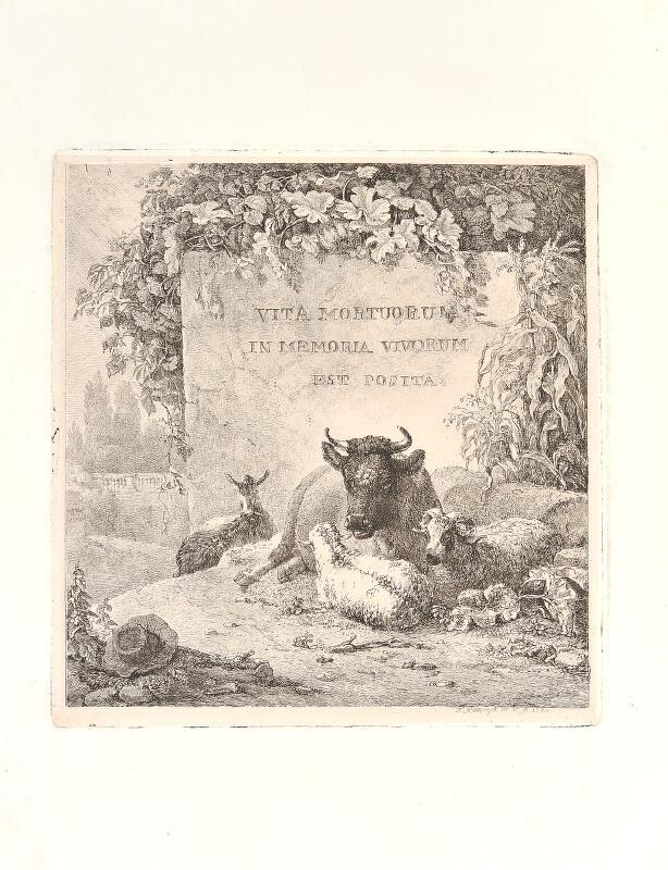 František Xaver, Rektorzik Rektořík - Vita mortuorum...(Vita mortuorum/ in memoria vivorum /est posita)