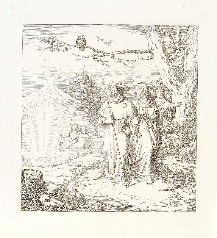 Josef Führich - Das Gebeth des Herrn