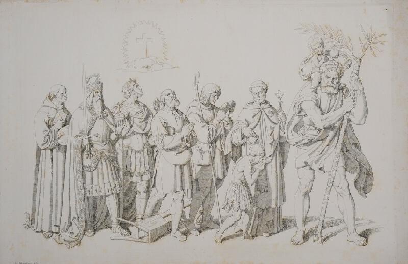 Josef Führich - Der Triumph Christi