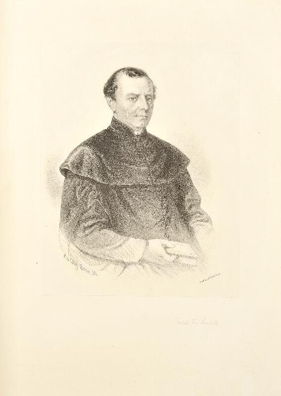 František Kolář (Kollarz) - Podobizna Františka Sušila