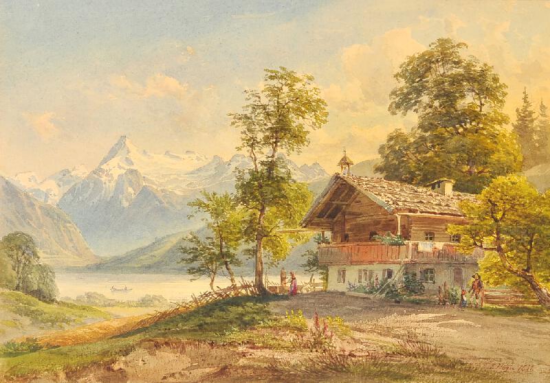 Josef Höger - Na jezeře