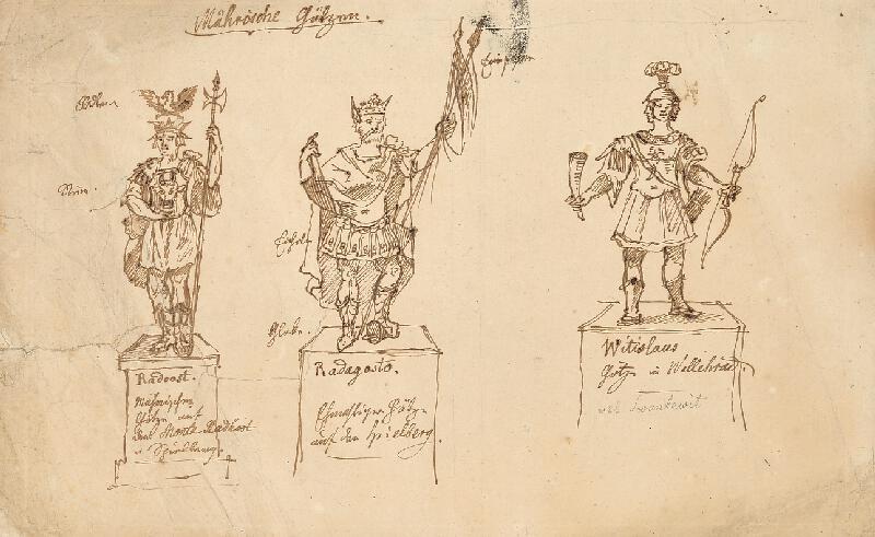 František (Franz) Richter - Moravské modly