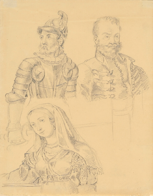 František (Franz) Richter - Krojové studie