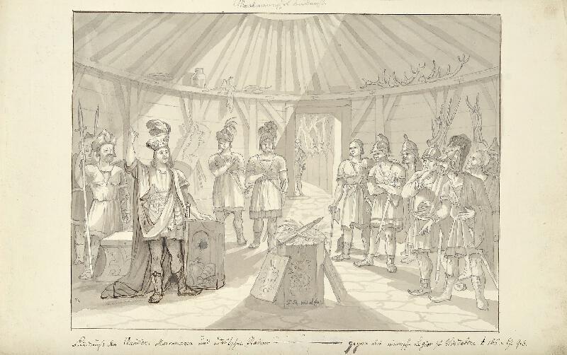 František (Franz) Richter - Spolek Markomanů a Kvádů s německými kmeny