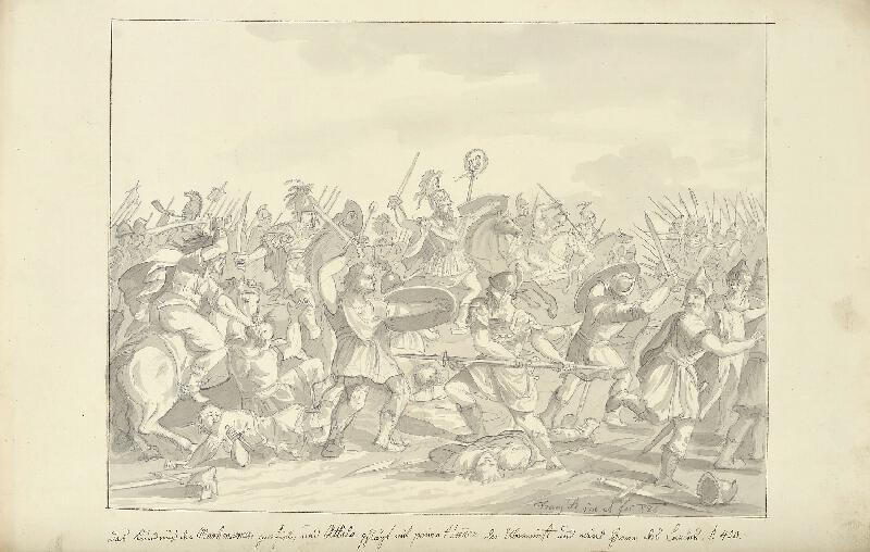 František (Franz) Richter - Attilovo vítězství