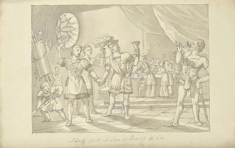 František (Franz) Richter - Smlouva mezi Radulfem a Sámem