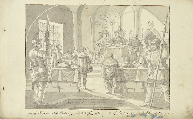 František (Franz) Richter - Vévoda Mojmír a církevní učitel Metoděj