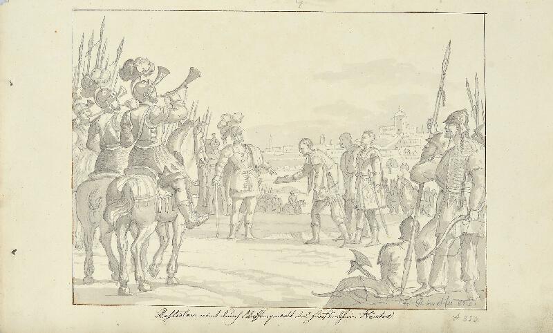 František (Franz) Richter - Rostislav se zmocňuje Nitry