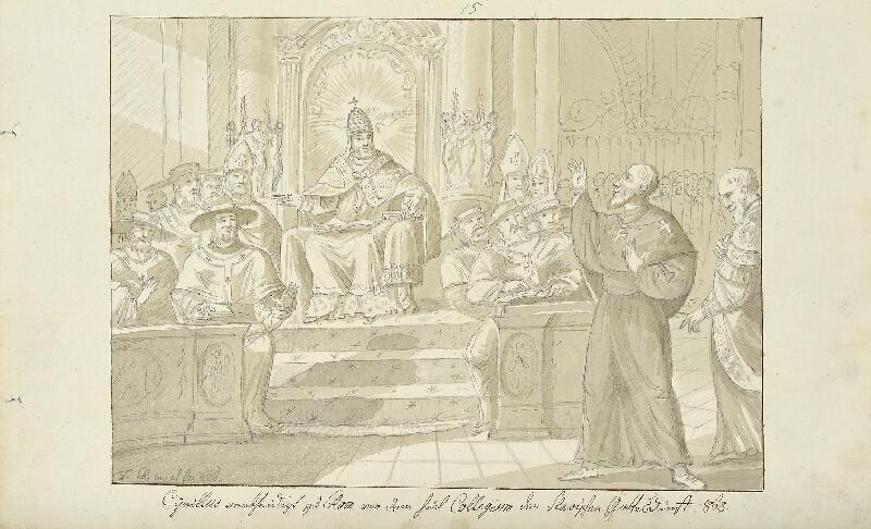 František (Franz) Richter - Cyril v Římě