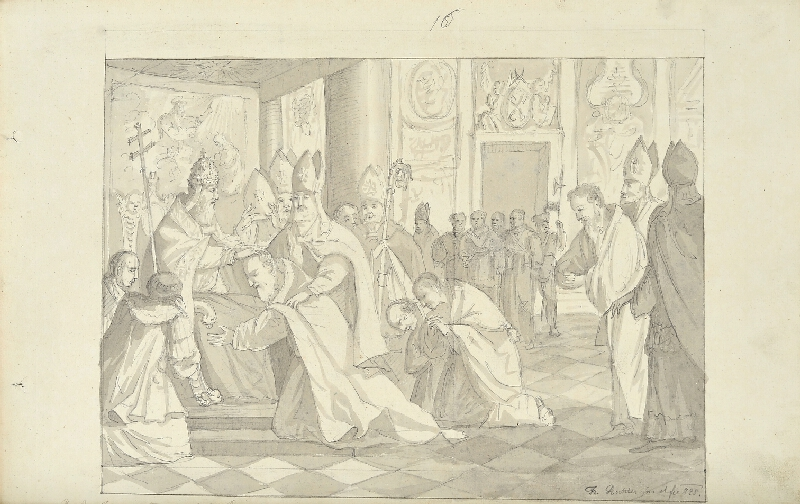 František (Franz) Richter - Cyril a Metod biskupy vysvěceni