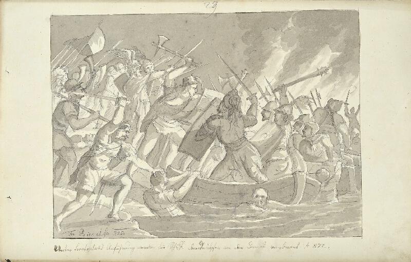 František (Franz) Richter - Svatopluk ničí německé lodě
