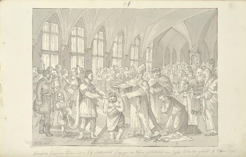 František (Franz) Richter - Bořivojův křest