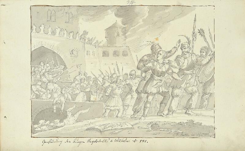 František (Franz) Richter - Zničení hradů Engelšalka a Viléma