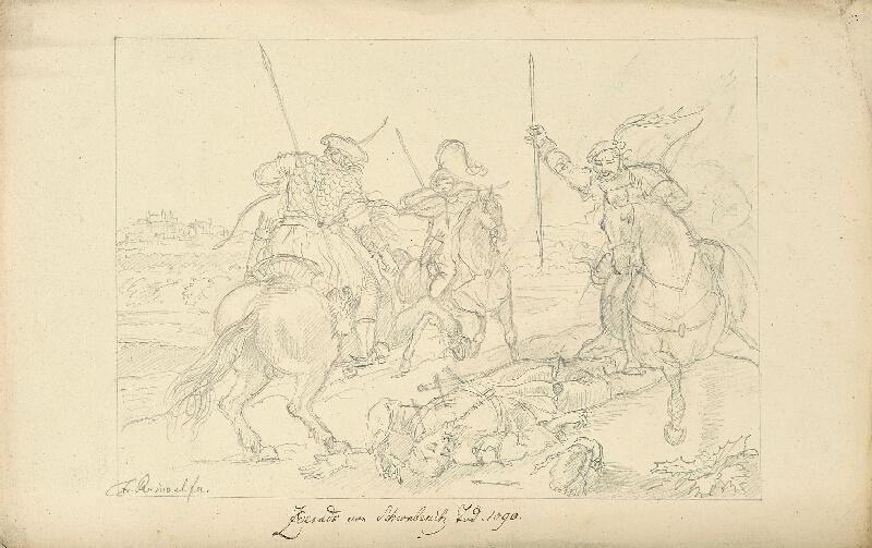 František (Franz) Richter - Smrt Zderadova