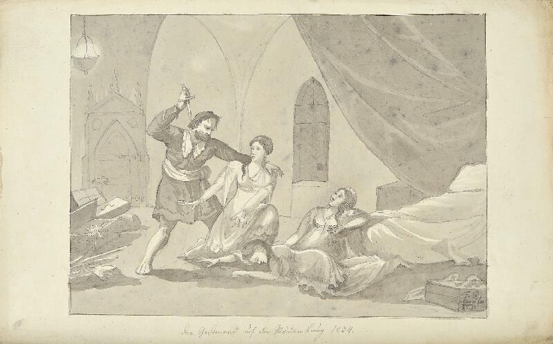 František (Franz) Richter - Vražda na Děvíně