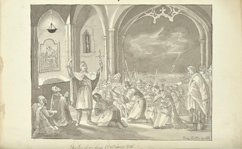 František (Franz) Richter - Bitva na Hostýně