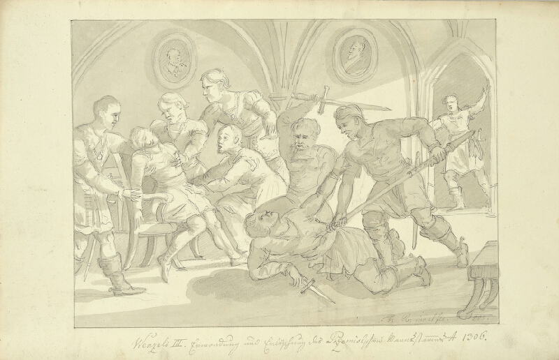 František (Franz) Richter - Smrt Václava III.
