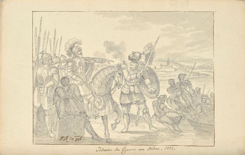František (Franz) Richter - Jan Železný před Ostravou