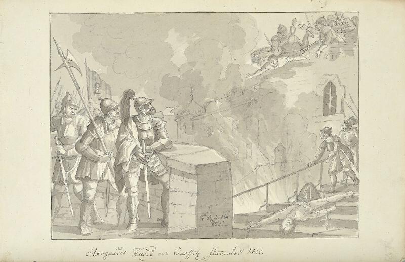 František (Franz) Richter - Smrt Mar. Kužela z Kvasic