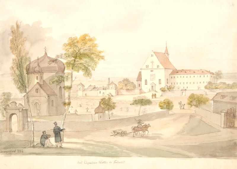 František (Franz) Richter - Kapucínský klášter ve Fulneku