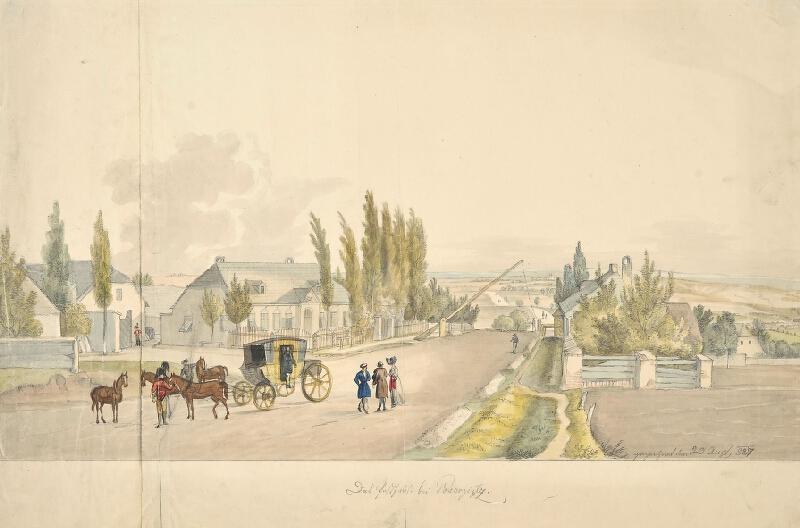 František (Franz) Richter - Pozořice-pošta