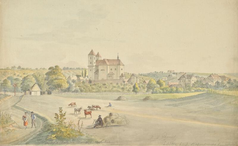 František (Franz) Richter - Pozořice-celkový pohled