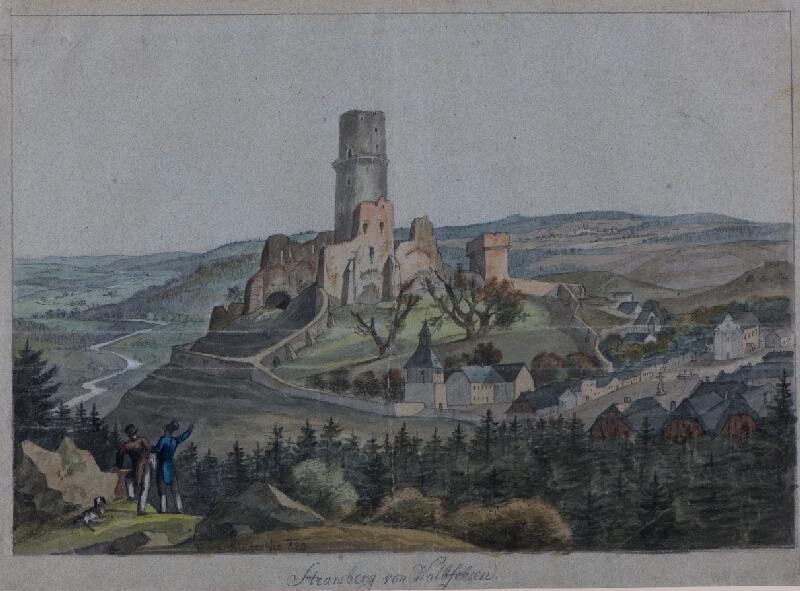 František (Franz) Richter - Pohled na Štramberk