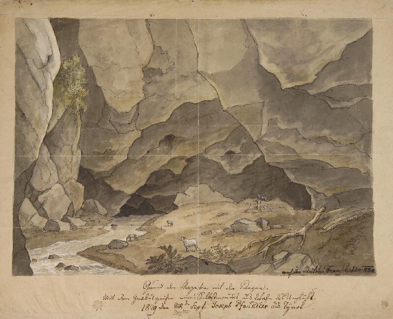 František (Franz) Richter - Dno Macochy